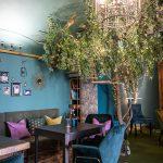 Glamour interiér Ragdoll Café mačacej kaviarne