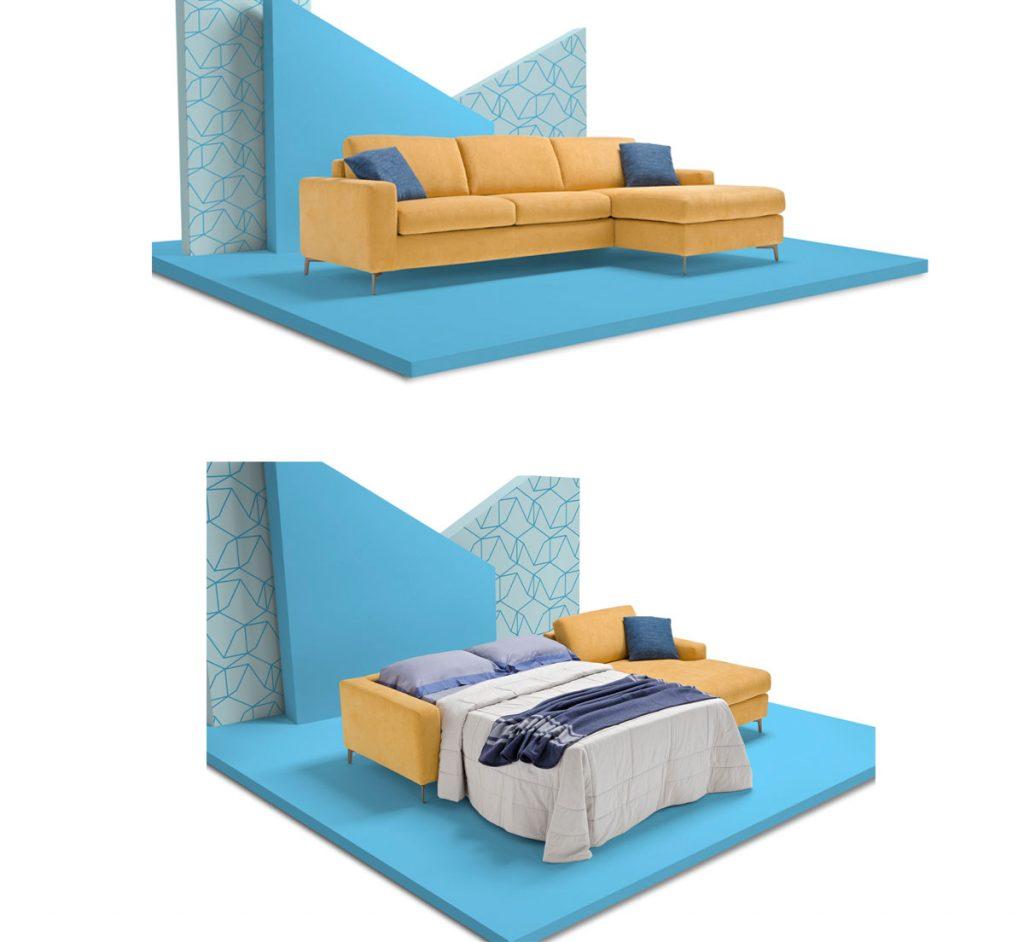 sofabed: rozkladacia sedačka Lisbona