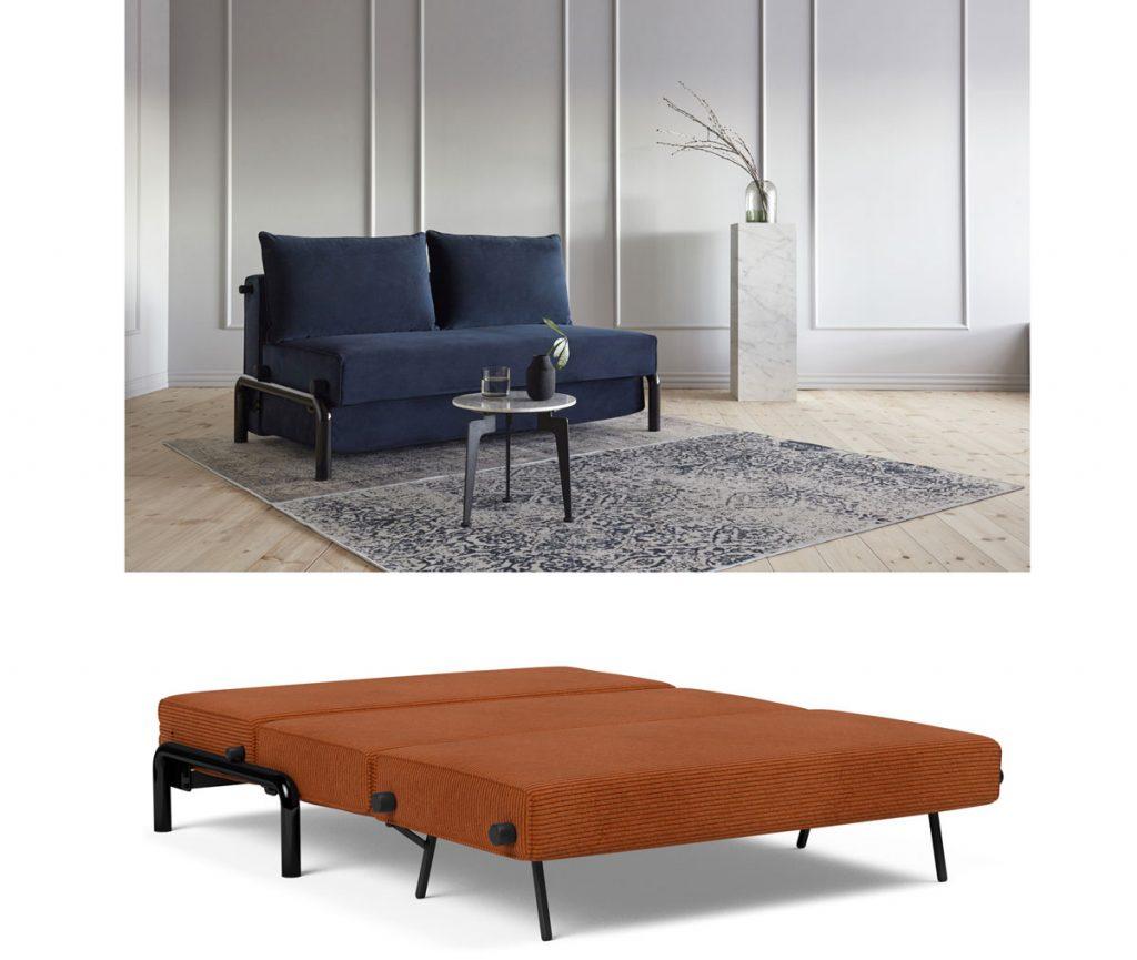 sofabed: rozkladacia sedačka Ramone 140
