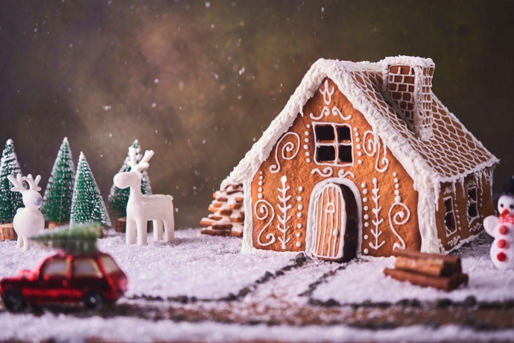 Vianočné prianie doma.sk a časopisu Pekné bývanie: perníková chalúpka