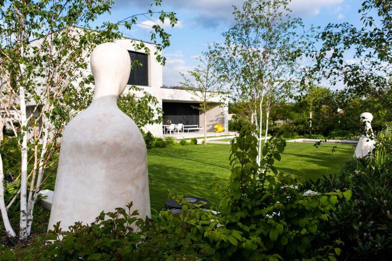 Záhrada s jasnou ideou skutočne ožila až vďaka umeniu (video)