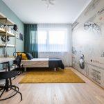 detská izba pre tínedžera vo vzorom byt komplexu Kolísky
