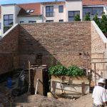 mestská záhrada vo vnútrobloku pri Atelieri Partero pred obnovou