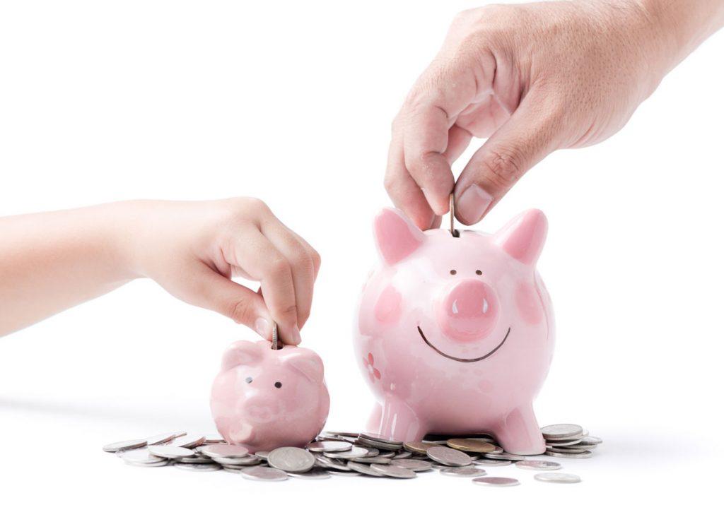 Ekologická domácnosť a šetrenie: deti a peniaze