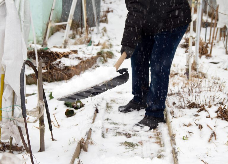 4 ekologické a šetrné alternatívy pre zimný posyp záhradných chodníkov a dlažieb