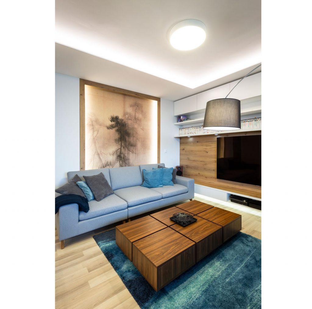 šesť trendov pre obývačky: obývačka v minimalistickom pánskom štýle
