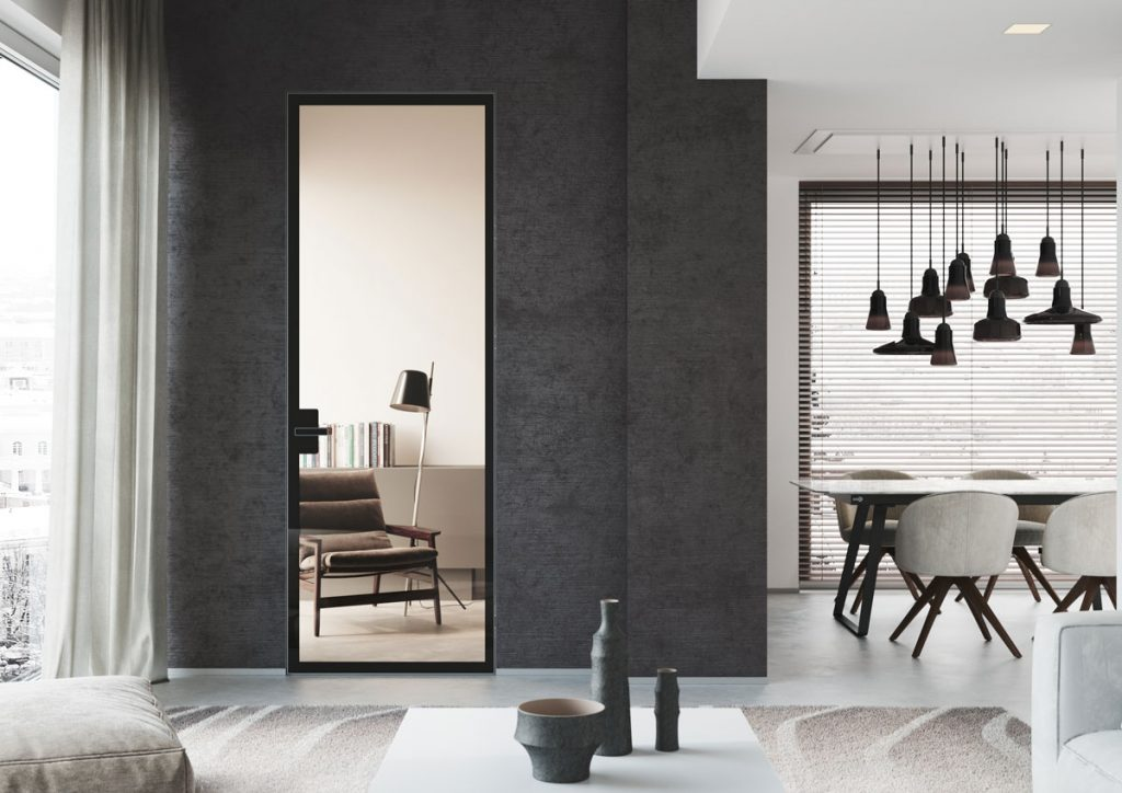 Dvere v duchu minimalizmu
