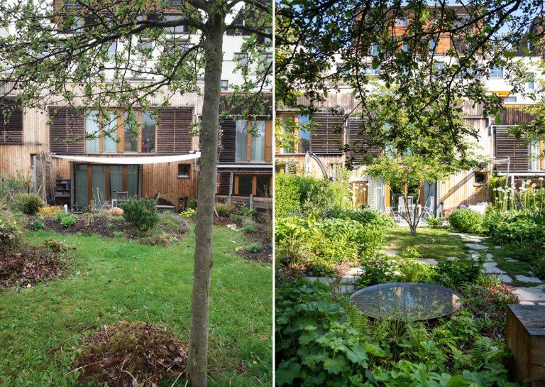 Premena pár štvorcových metrov priestoru na funkčnú a malebnú záhradu