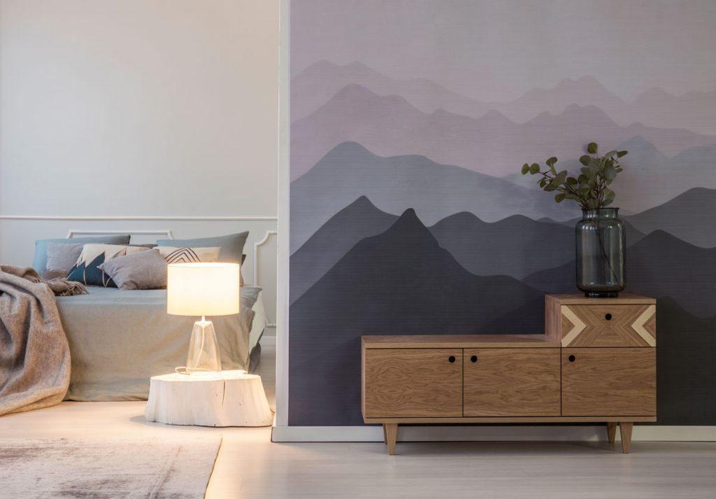 O tapetách: Tapeta hôr v interiéri