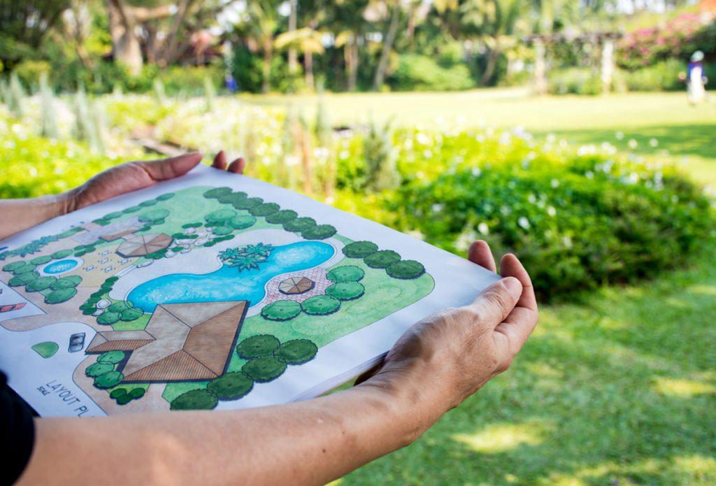 Ako svojpomocne naplánovať záhradu