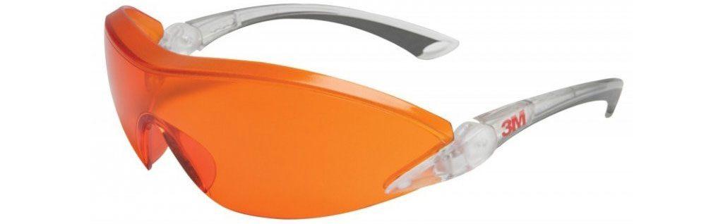 plnospektrálne osvetlenie: 3M okuliare blokujúce 100 % modrého svetla