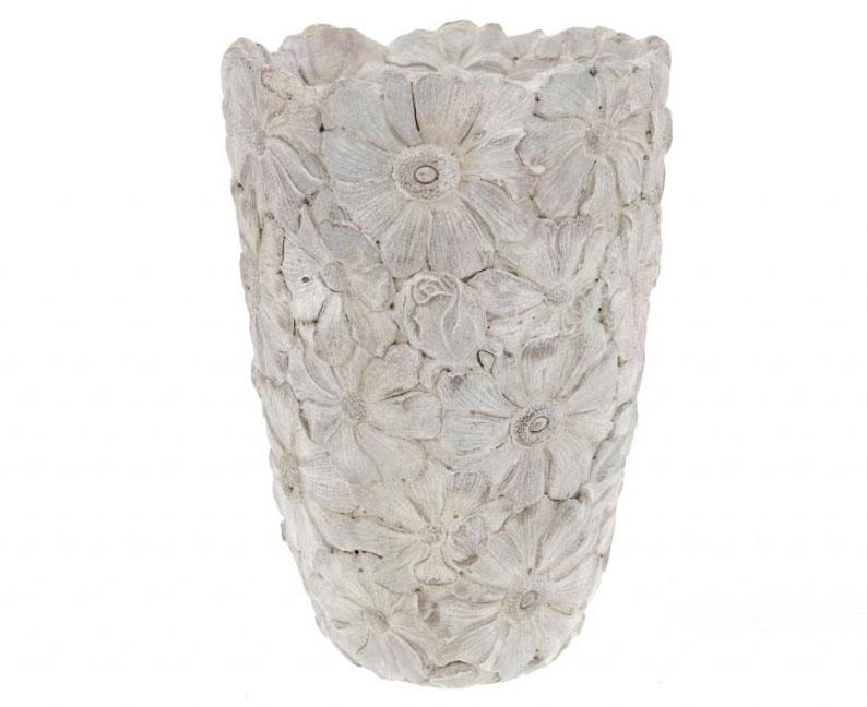 Betónová váza na kvety