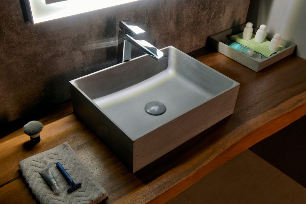 Betónové umývadlo FORMIGO, ručná výroba