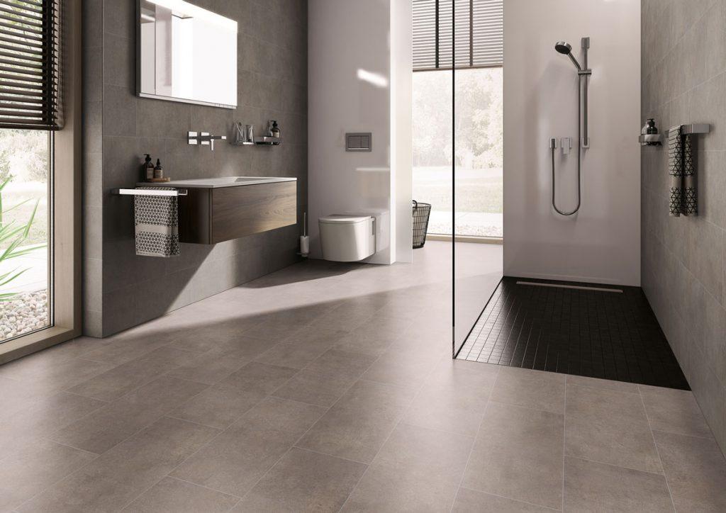 Vodeodolná podlahová krytina Bovino SCP vhodná aj do kúpeľne