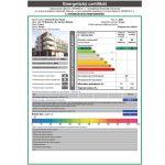 stavba domu zmeny v pravidlách pre rok 2021: Príklad energetického certifikátu pre bytový dom
