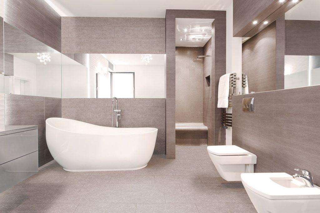 Vodeodolná podlahová krytina Ferrara SPC, vhodná aj do kúpeľne