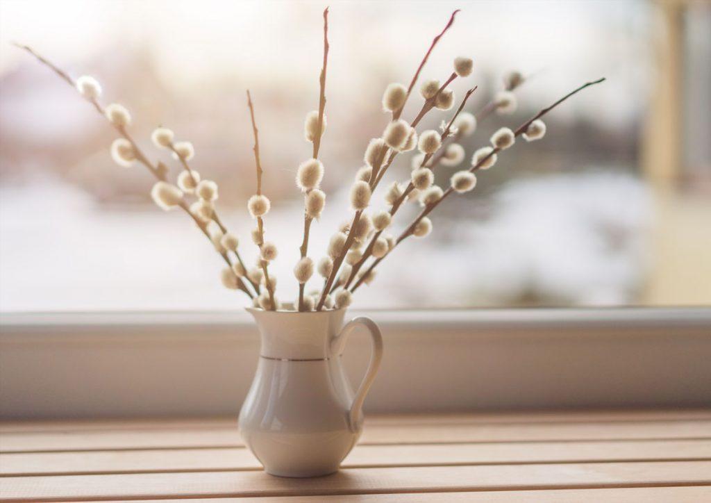 Veľkonočné tradície: bahniatka v okne