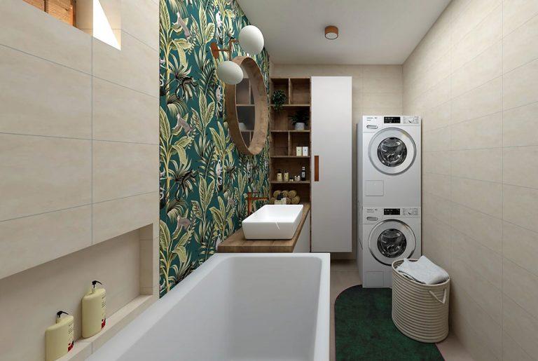 Kúpeľňa, ktorá prekukla! Svieža renovácia pre manželský pár po päťdesiatke