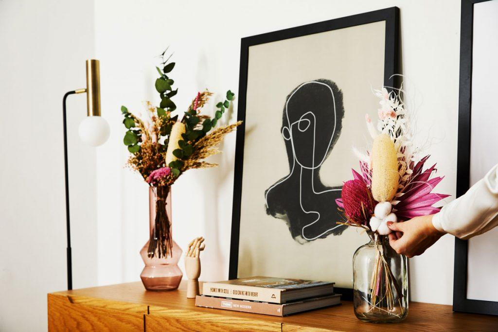 Oživenie interiéru kvetmi
