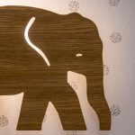 tapeta s motívom slona