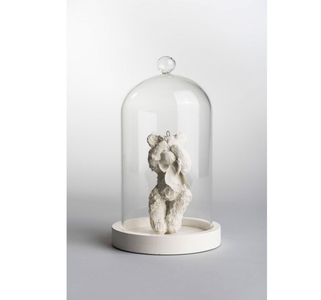 Porcelánový medvedík od LK/minilab
