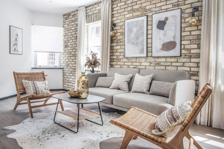 Slovenky dostali možnosť zariadiť byt v historickom dome v centre Londýna. Výsledok je dokonalý!