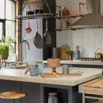 Industriálna kuchyňa s ostrovčekom