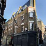 obytný historický murovaný dom v centre Londýna