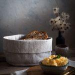 Ľanový košík na chlieb od Abreadbag