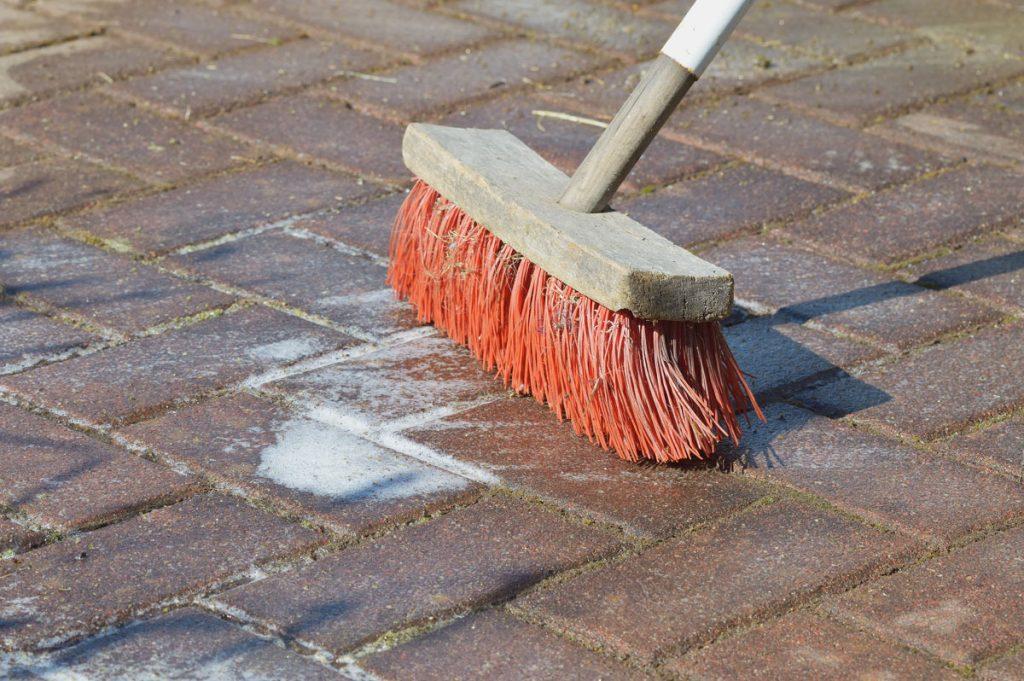 Ošetrenie betónovej dlažby