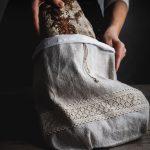 Ľanové vrecko na chlieb od Abreadbag