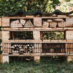 Domček pre hmyz z paliet