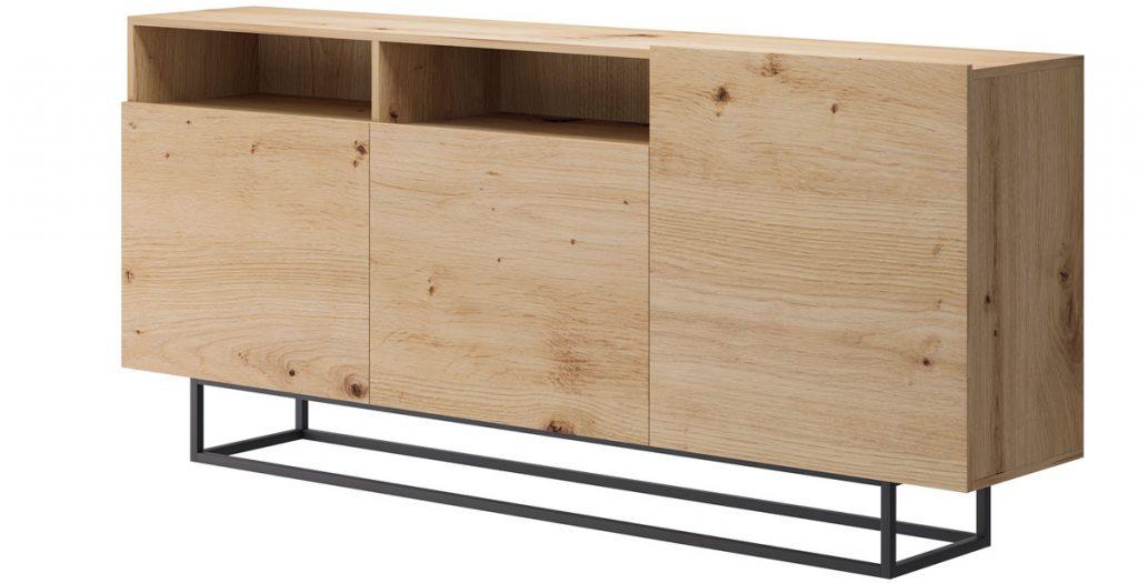 minimalistická komoda do spálne