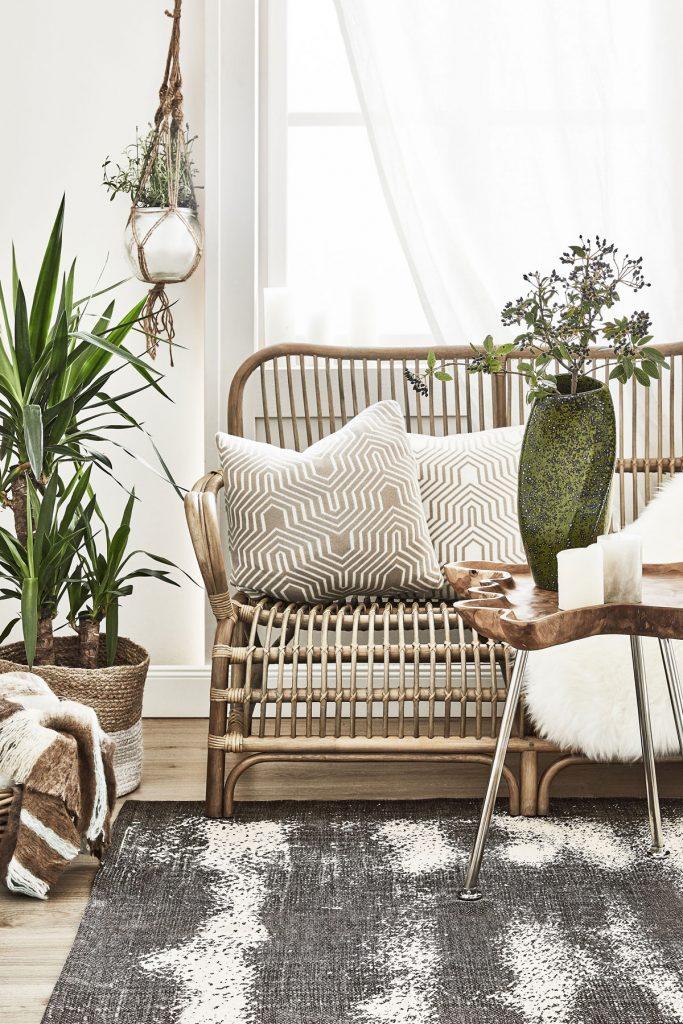 slow living: nábytky v prírodnom štýle