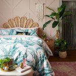 Obývačka v tropickom štýle