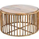 Kávový stolík zbambusu inšpirovaný ázijským dizajnom