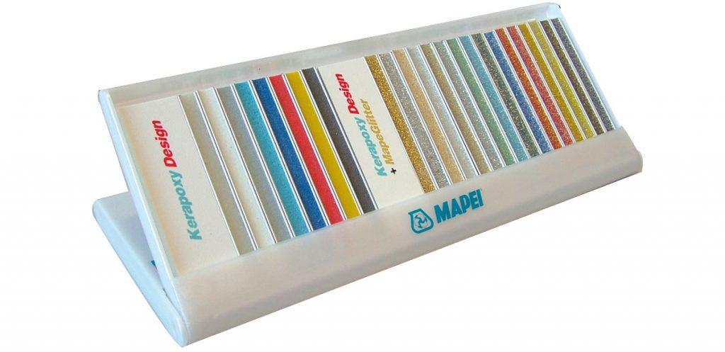 Kerapoxy vzorkovník farieb