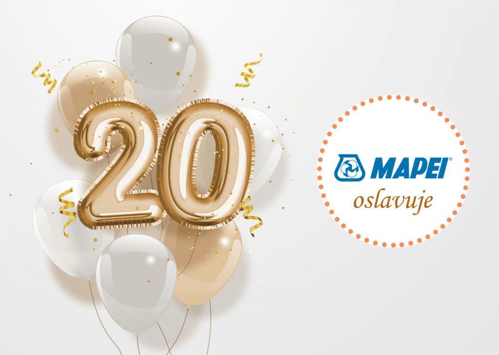 Súťaž: 20 týždňov osláv s Mapei