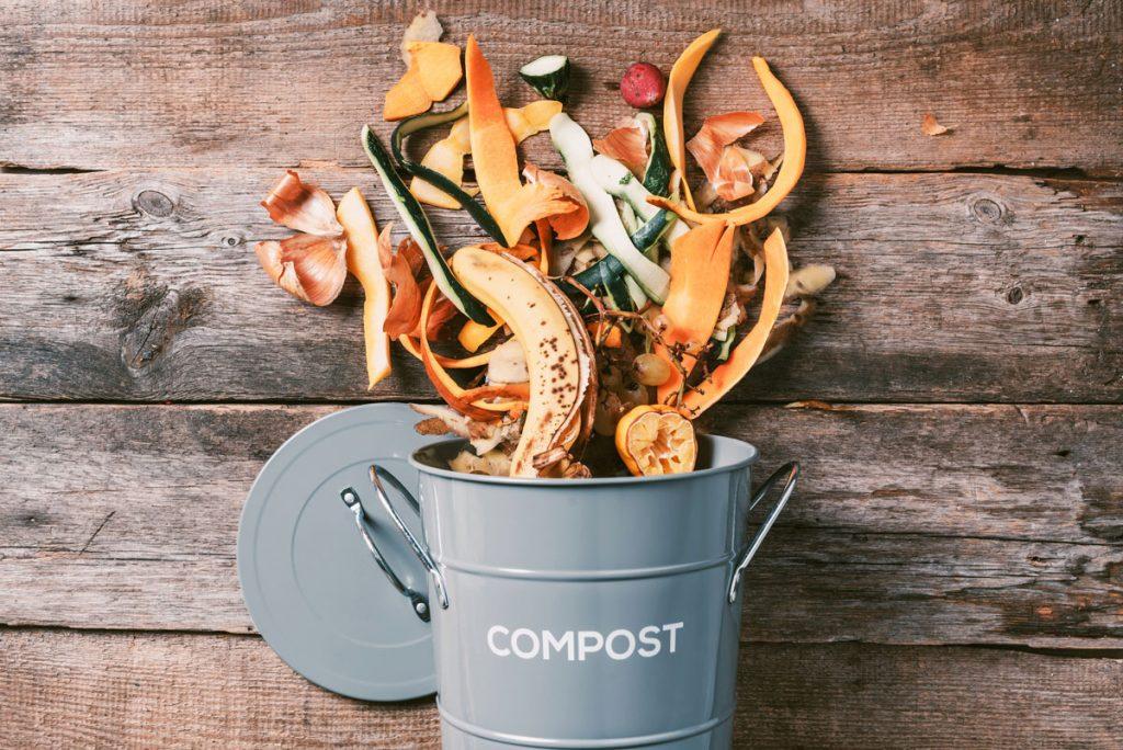 čo dať do kompostu