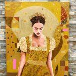 obraz Dievča na lúke od Patrika Koprivňanského