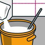 Ako nalepiť papierovú tapetu: namiešanie lepidla