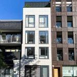 novostavba londýnskeho domu vo štvrti Hackney