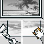 Ako nalepiť papierovú tapetu: vyhladenie tapety gumovou stierkou