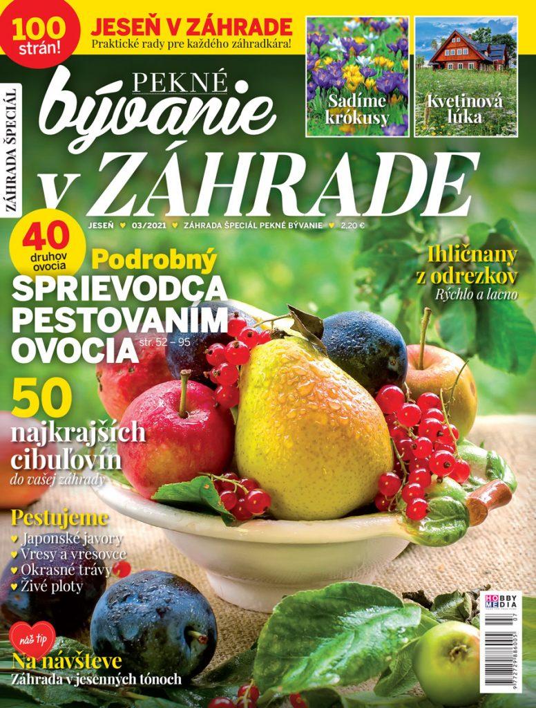 časopis Pekné bývanie V záhrade jesenné vydanie