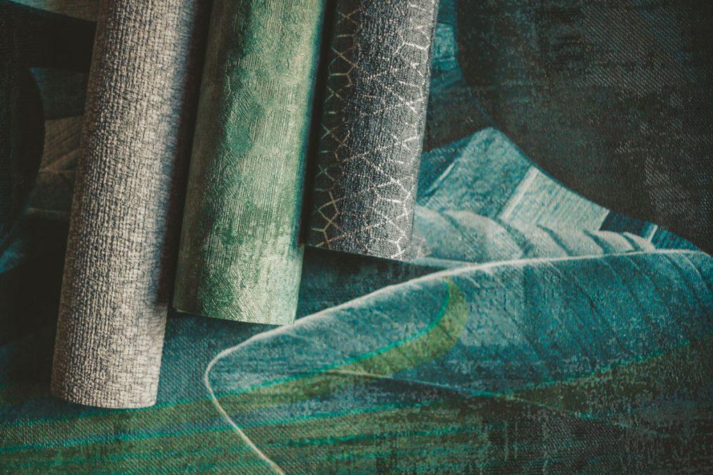 Štruktúrované tapety v zemitých farbách