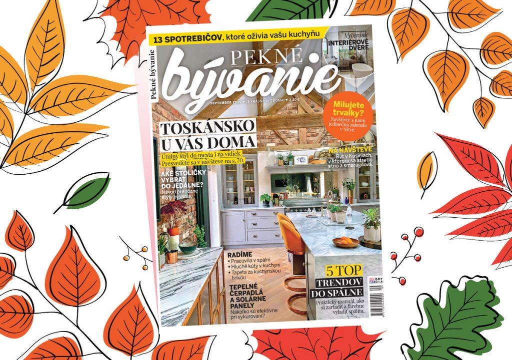 Slovenské Toskánsko hľadajte v septembrovom Peknom bývaní