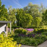Okrasná výsadba v Interaktívnej a experimentálnej záhrade v Nitre