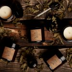 Mätová aromaterapeutická sójová sviečka v skle