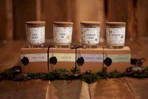 Migrény doviedli Paulínu k založeniu vlastnej značky so zdravými sviečkami. Spoznajte Dizajn od lesa