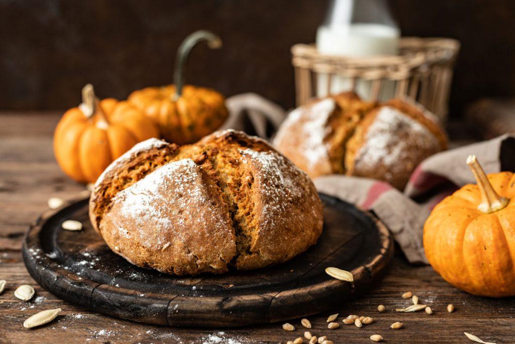 Recept na kváskový chlieb stekvicou acibuľou pre domácu pekáreň